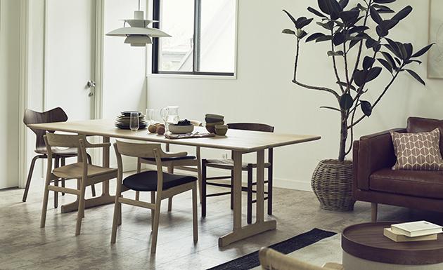 お客様に合ったデザインにカスタマイズできるテーブルです
