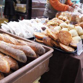 小麦の味をかみしめるパン