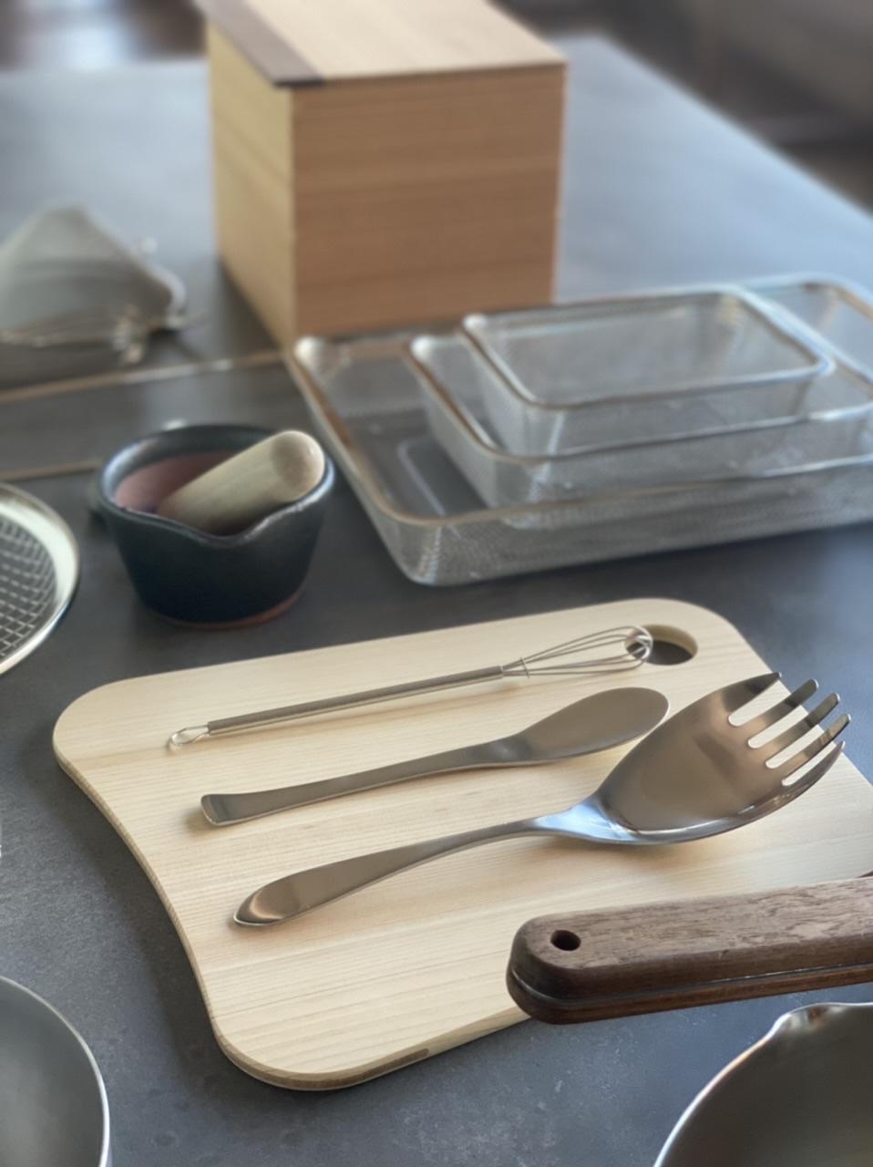 日々の台所道具展始まります